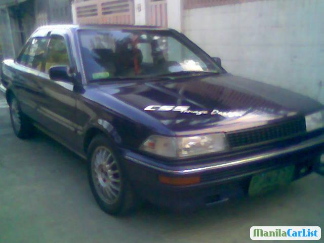 Picture of Toyota Corolla Manual 1990