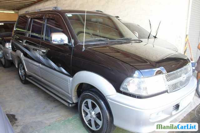 Pictures of Toyota Revo Manual 2002