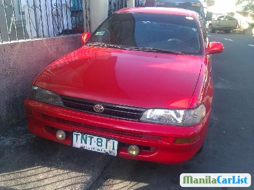 Picture of Toyota Corolla Manual 1995