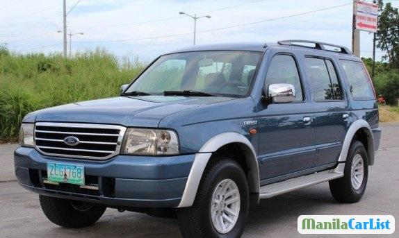 Picture of Ford Everest Manual 2005