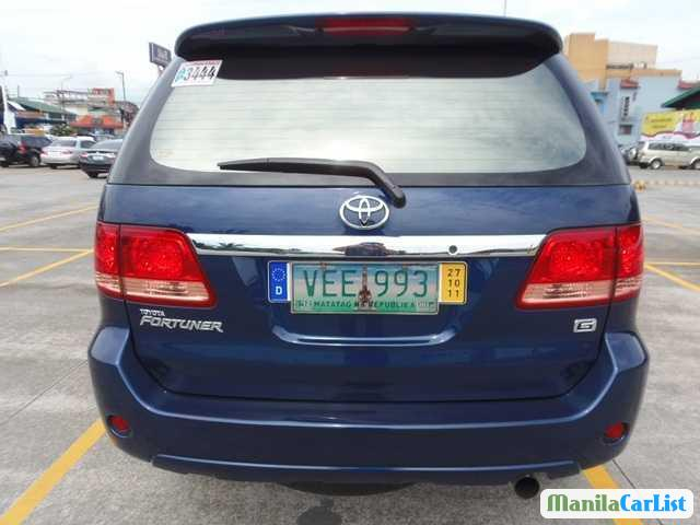 Toyota Fortuner Automatic 2008 in Aklan