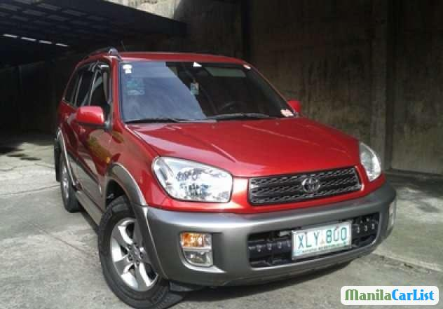 Pictures of Toyota RAV4 Manual 2003