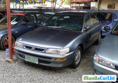 Pictures of Toyota Corolla Manual 1997