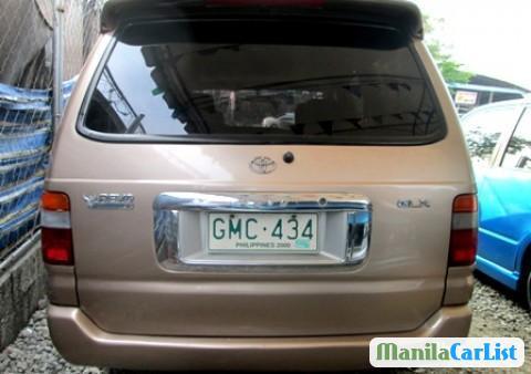 Toyota Revo 2001 in Philippines