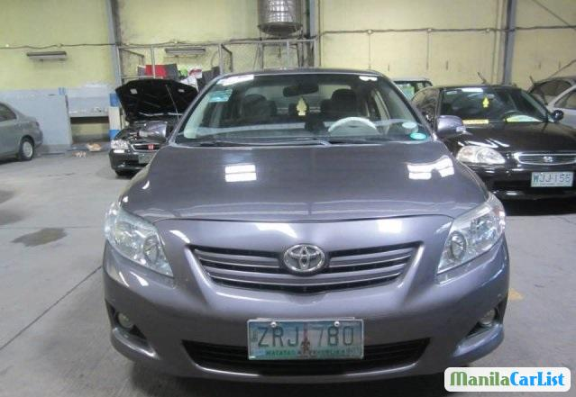 Pictures of Toyota Corolla Automatic 2008