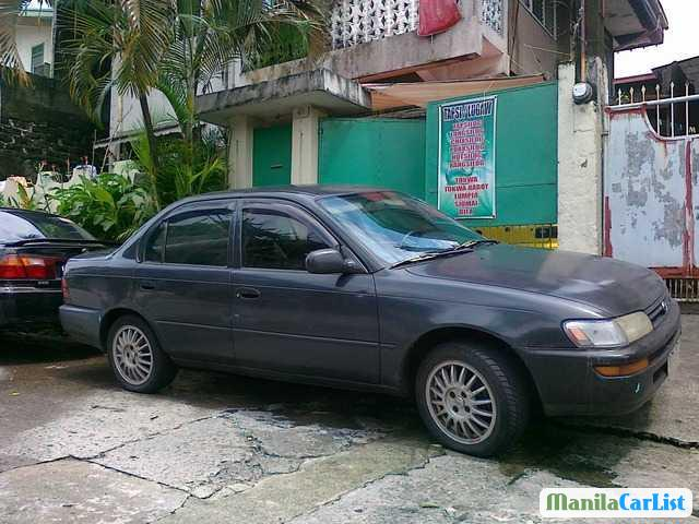 Picture of Toyota Corolla Manual 1994