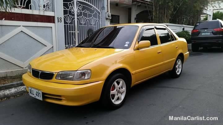 Picture of Toyota Corolla Manual 2001