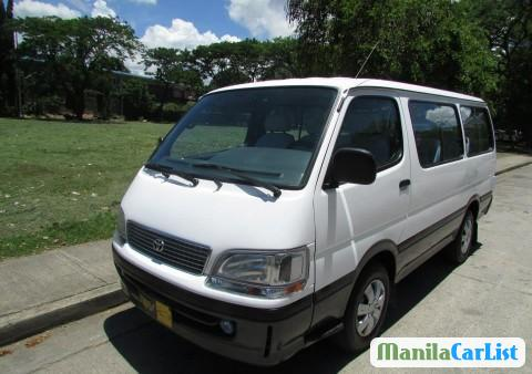 Picture of Toyota Hiace Manual 2000