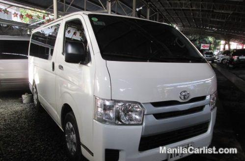 Picture of Toyota Hiace Manual 2015