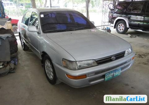 Picture of Toyota Corolla Manual 1993