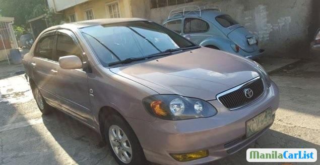 Pictures of Toyota Corolla 2002