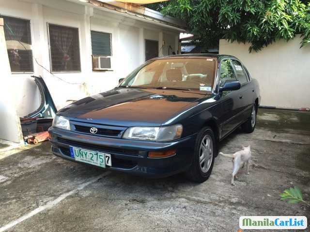 Pictures of Toyota Corolla Manual 1996