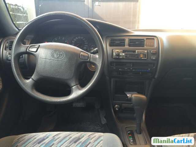 Toyota Corolla Manual 1996