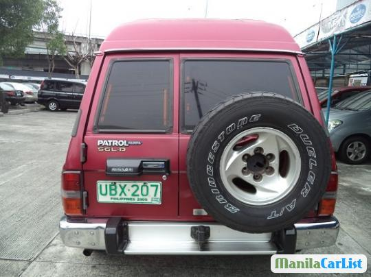 Nissan Patrol Manual 1996 in Philippines