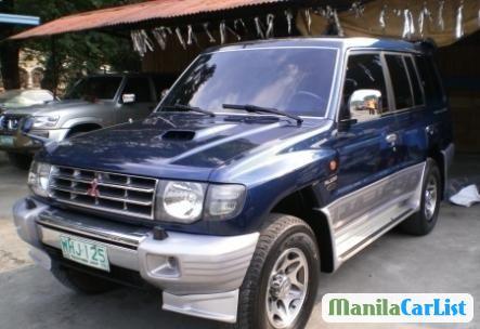 Picture of Mitsubishi Pajero Manual 2000