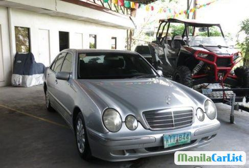 Picture of Mercedes Benz E-Class Manual 2000