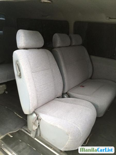 Toyota Hiace Manual 2000 in Philippines