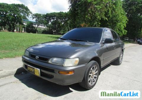 Picture of Toyota Corolla Manual 1998