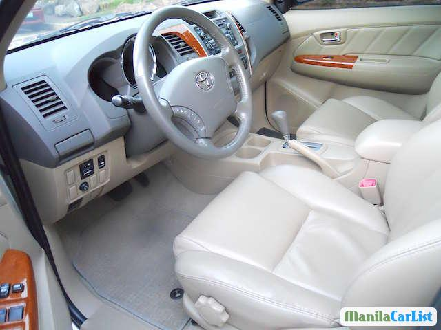Toyota Fortuner Automatic 2015