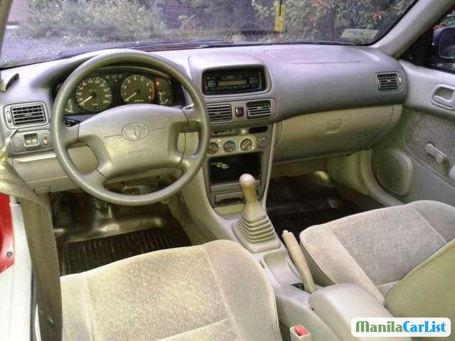 Toyota Corolla Manual 1998