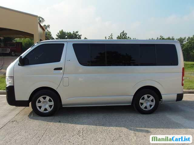 Toyota Hiace Manual 2008 in Philippines