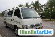 Pictures of Nissan Urvan Manual 2003