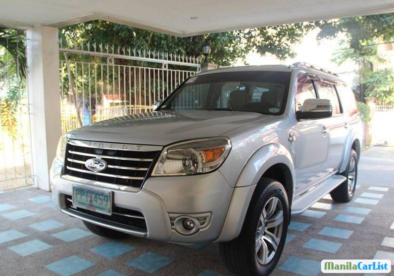 Picture of Ford Everest Manual 2010