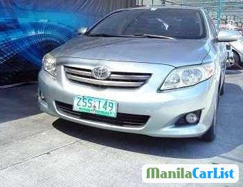 Picture of Toyota Corolla Manual 2008