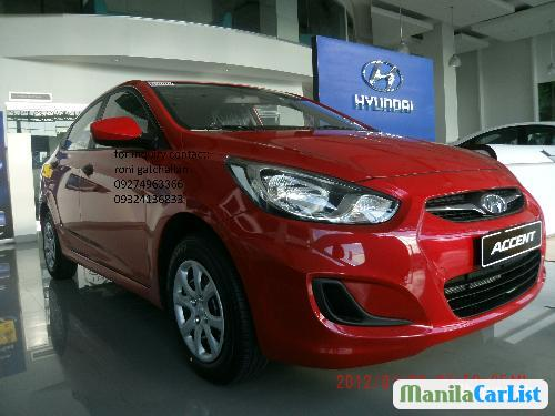 Picture of Hyundai Accent Manual 2012