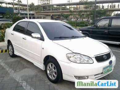 Picture of Toyota Corolla Manual 2007