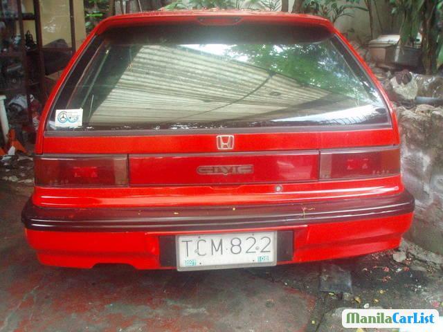 Honda Civic Manual 1991 in Leyte