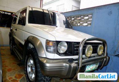Picture of Mitsubishi Pajero Manual 2000