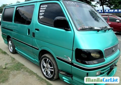 Picture of Toyota Hiace Manual 1998