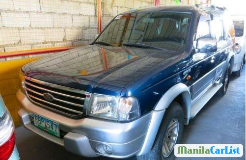 Pictures of Ford Everest Manual 2004