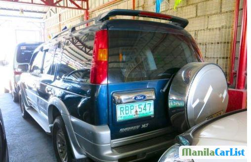 Ford Everest Manual 2004