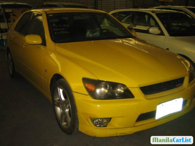 Picture of Toyota Altezza Manual 2000