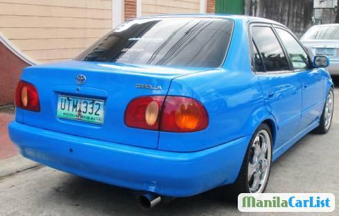 Toyota Corolla Manual 1998 - image 4