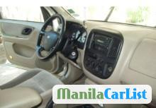 Ford Escape Automatic 2005 in Philippines