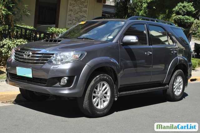 Picture of Toyota Fortuner Manual 2013