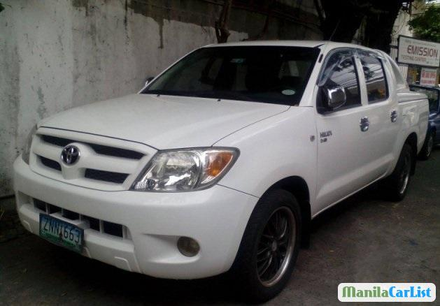 Picture of Toyota Hilux Manual 2008