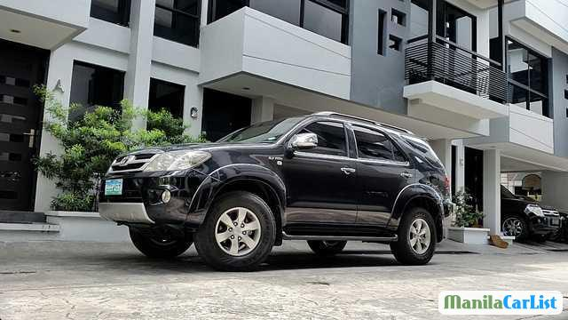 Picture of Toyota Fortuner Manual 2007