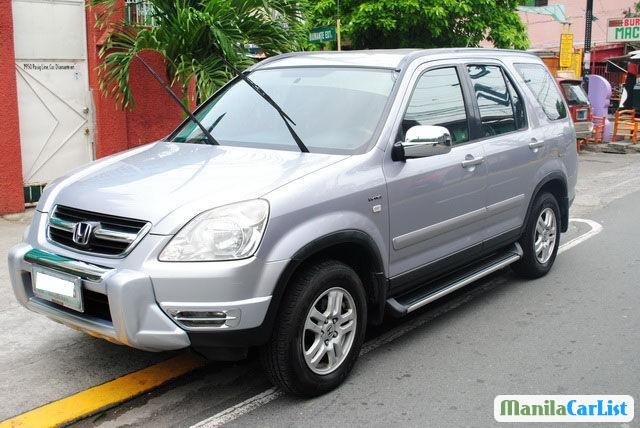 Honda CR-V Manual 2002