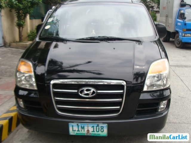 Picture of Hyundai Starex Manual 2006