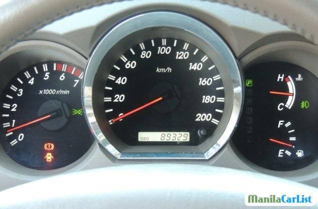 Toyota Fortuner 2006 in Philippines