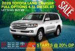 Toyota Land Cruiser Full Options Japan Automatic 2020