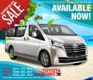 Toyota Hiace SG Elite Premium Automatic 2020