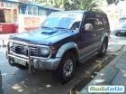 Mitsubishi Pajero Manual 1995