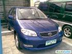 Toyota Vios Manual 2003