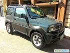 Suzuki Jimny Manual 2008