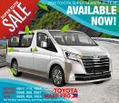 Toyota Hiace Brand New SG Elite Automatic 2020